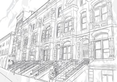 Sketch of the street