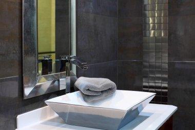 Modern bathroom interior - luxury design