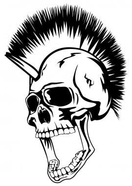 head punk skull