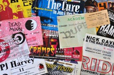 Rock music live concert tickets