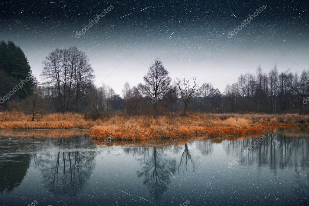 mystical landscape of the moon. Elements of this image furnished