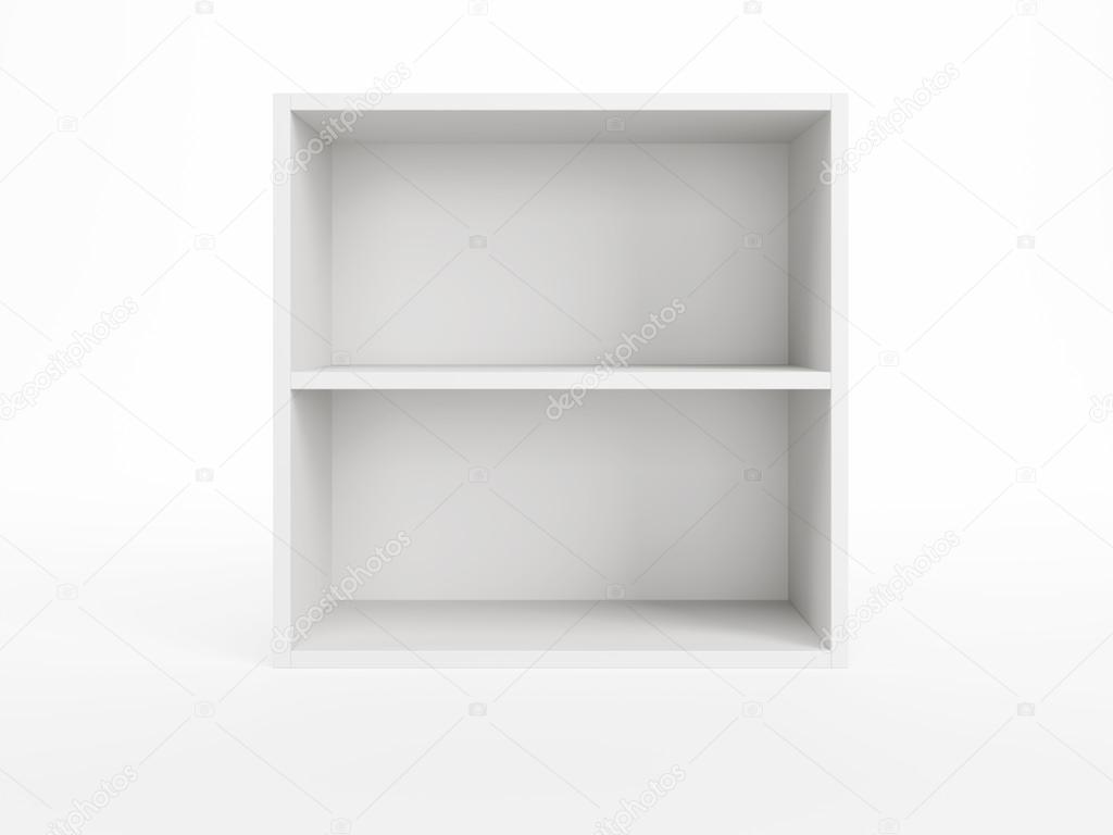 witte boekenkast — Stockfoto © auriso #25141147