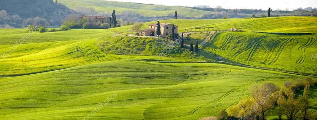 Picturesque Tuscany landscape