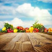 Fotografie Vegetable background