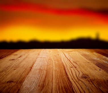 Wood backgrounds on the tuscany landscape