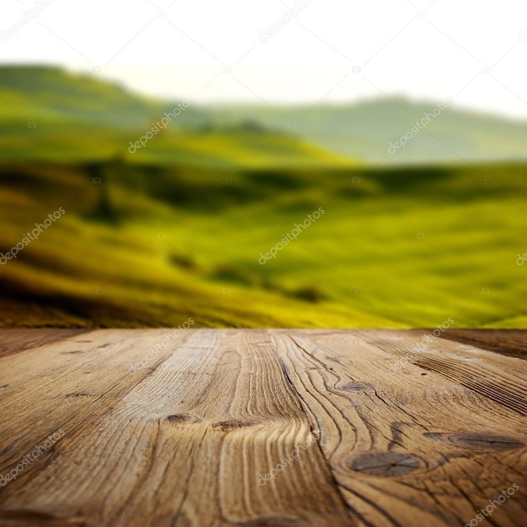 Wood backgrounds on the tuscany landscape