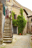 Fotografie Street of medieval village