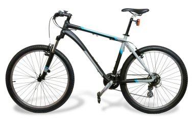 Mountain bicycle bike with shadow
