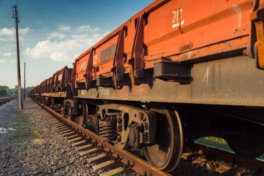 Rail freight car