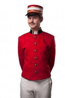 Portrait of a concierge