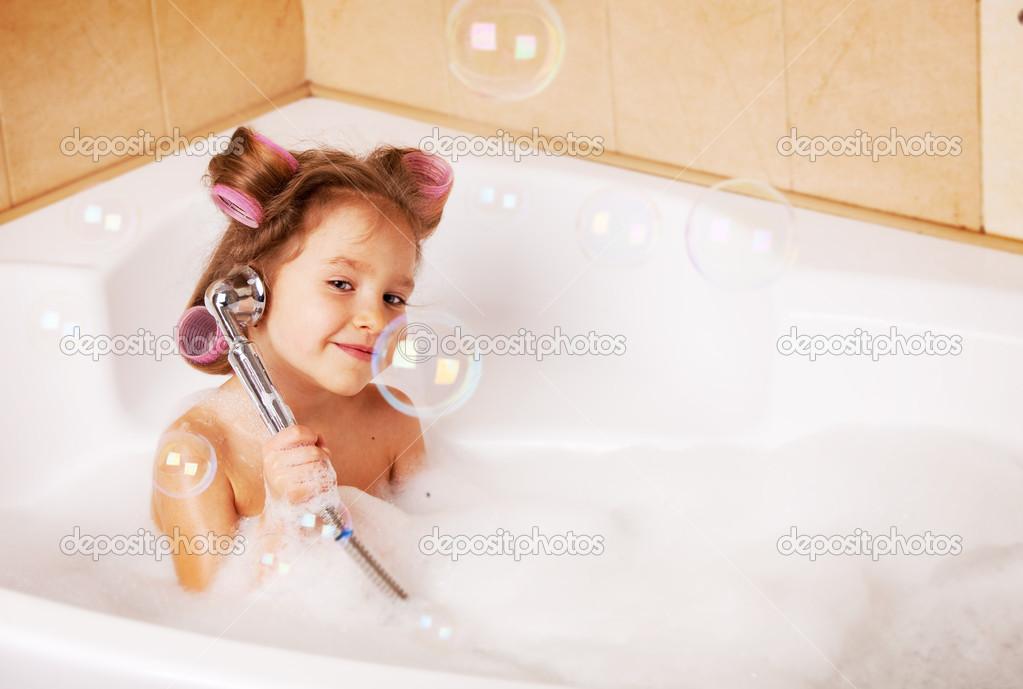 Моя девушка моется в ванной фото 181-264