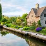 Iffley Lock. Oxford,  England — стоковое фото #47041441