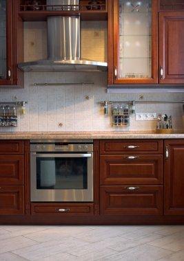 Interior of a new kitchen