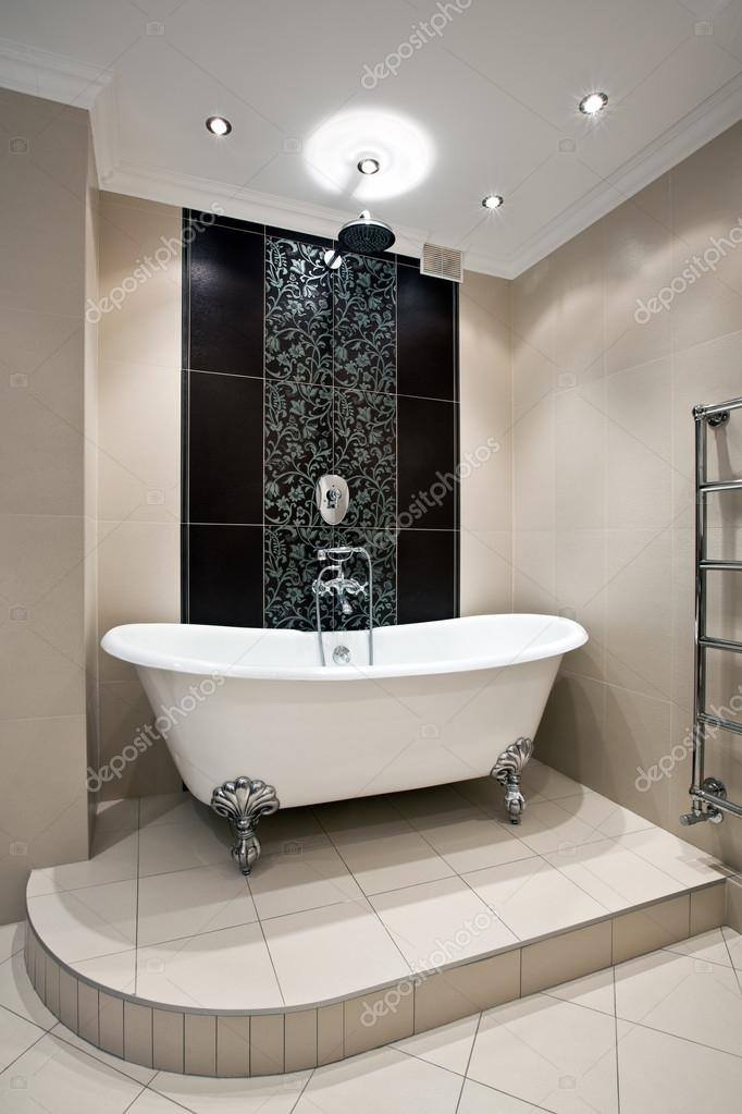 Luxus Badezimmer Interieur U2014 Stockfoto