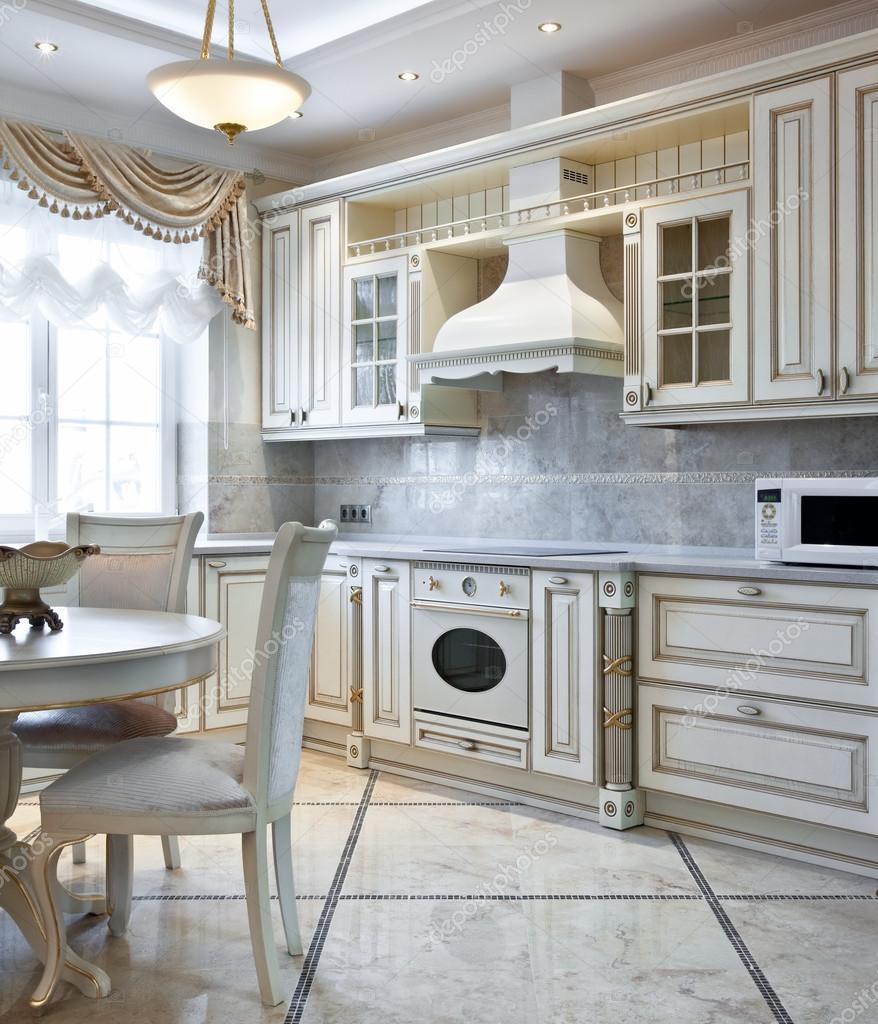 Luxe keuken interieur stockfoto yegorp 41723757 for Keuken interieur