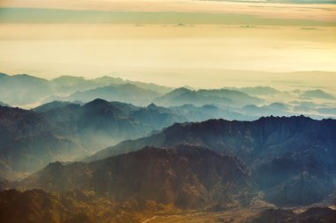 mountains of Sinai