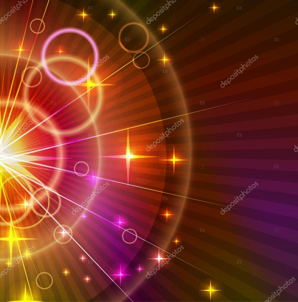 Abstract light orange and violet Background