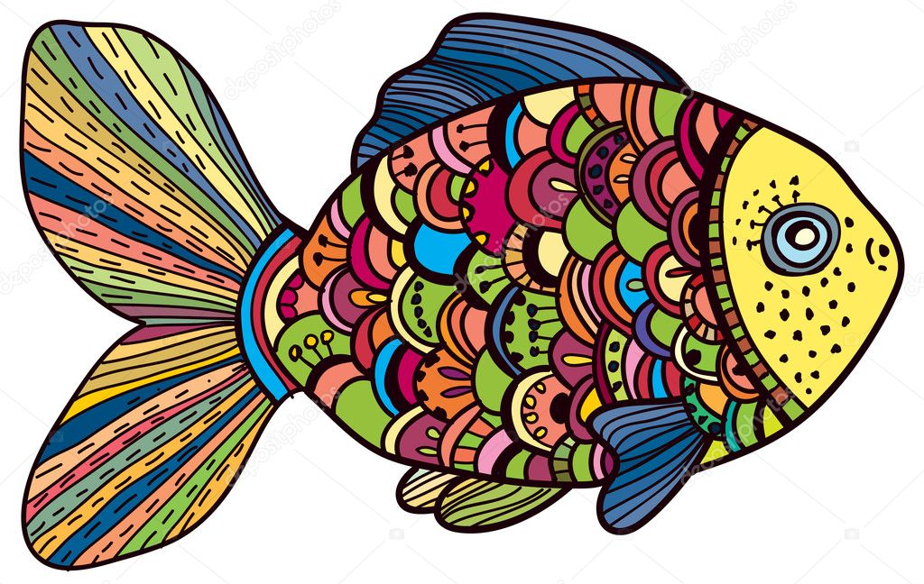 Beautiful color Fish