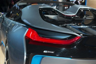 BMW i8 Spyder Concept premiere