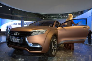 Lada XRAY concept world premiere