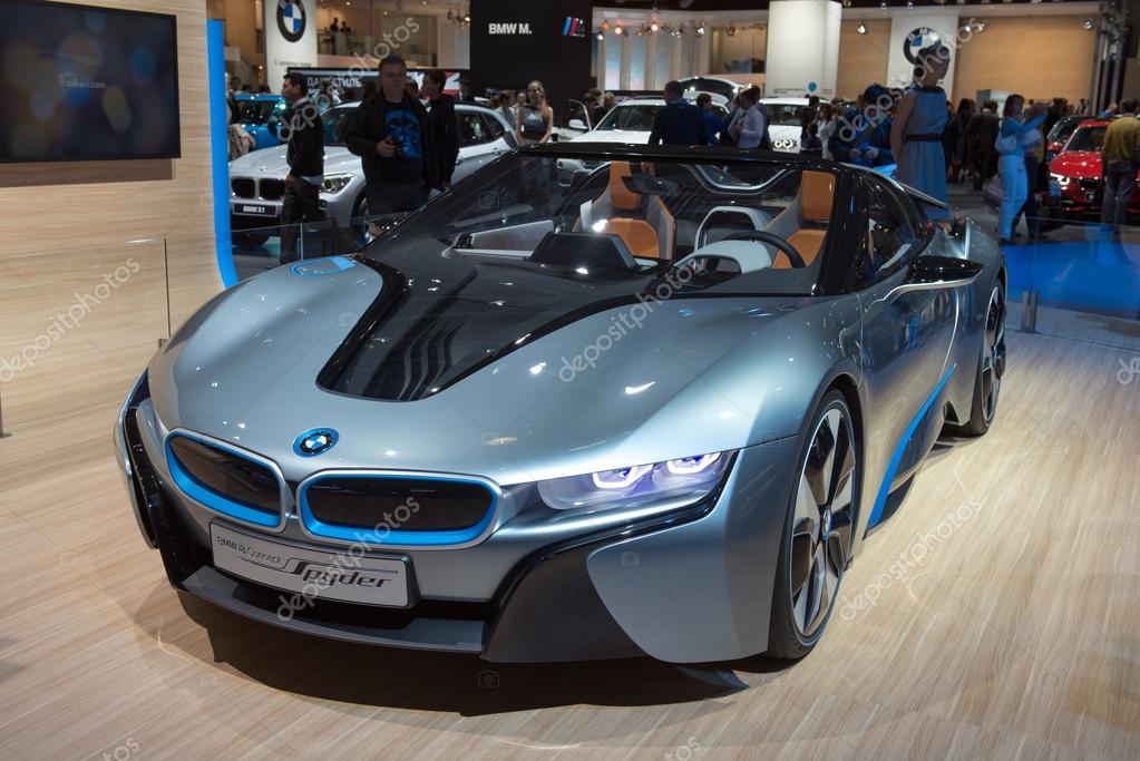 Bmw I8 Spyder Concept Premiere Stock Editorial Photo C Lexan76