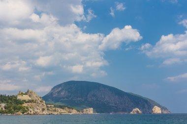 Gurzuf and Ayu Dag mountain.