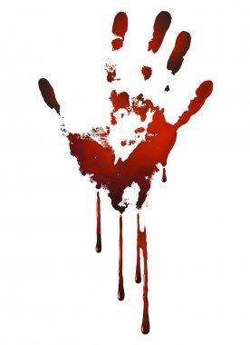 Bloody handle print
