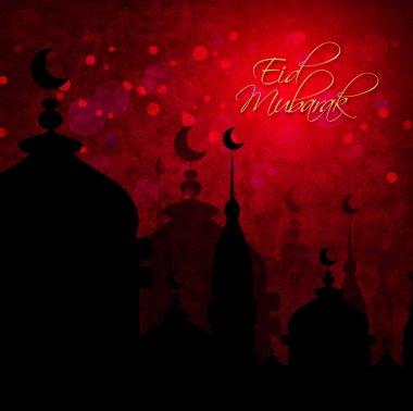 abstract background for eid mubarak festival