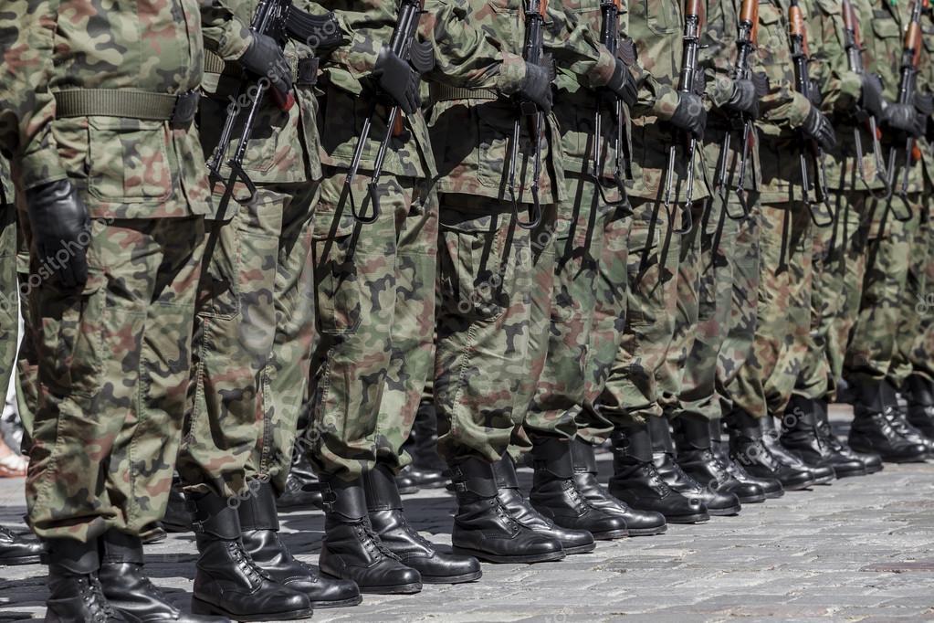 Polish army - military parade