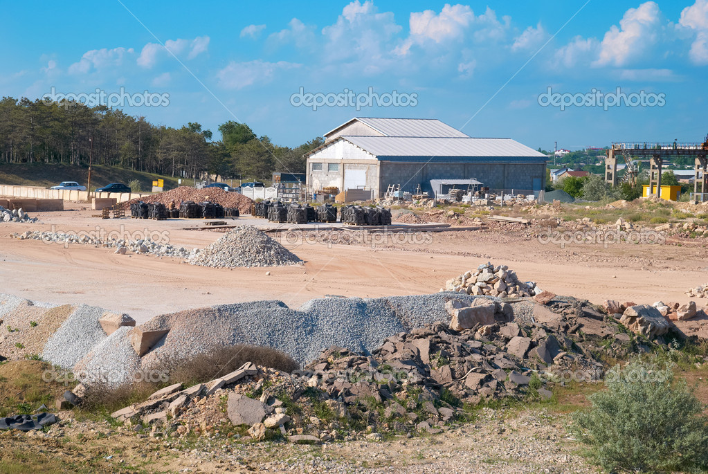 Stone and sand industry