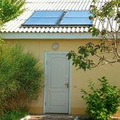 sluneční soustava na střeše
