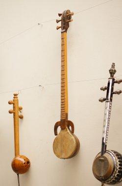 antique musical instrument