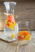 Summer fresh fruit drink
