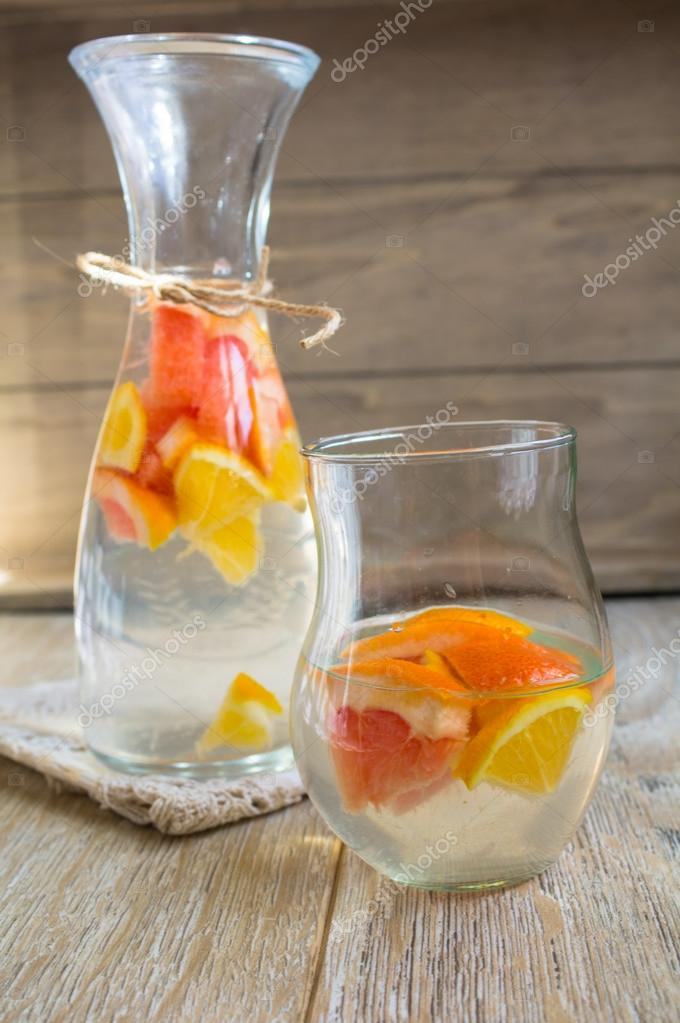 Summer fresh fruit drink