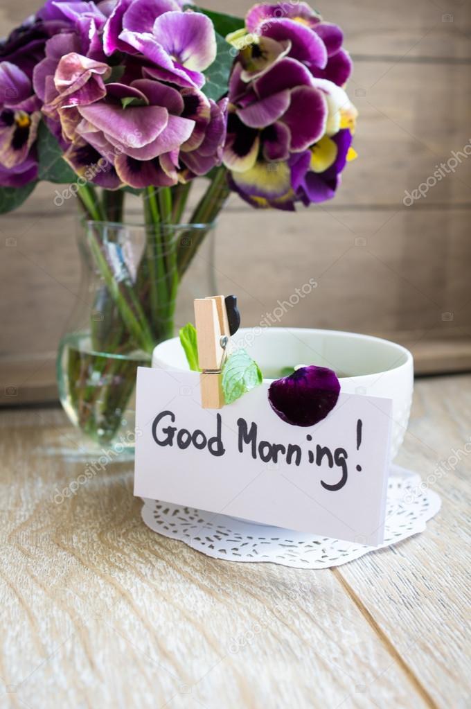 Цветы фото доброе утро