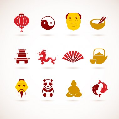 Collection of China icons