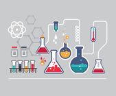 Fotografie Chemistry infographic