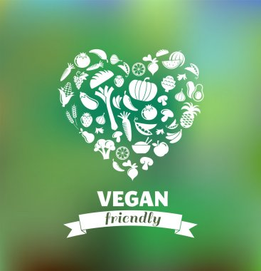 vegetarian and vegan, healthy organic background