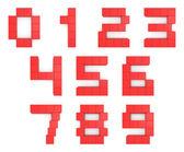 3d krychlových červená čísla
