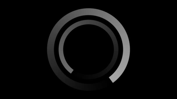 Loading screen, 2 circles - seamlessly looped