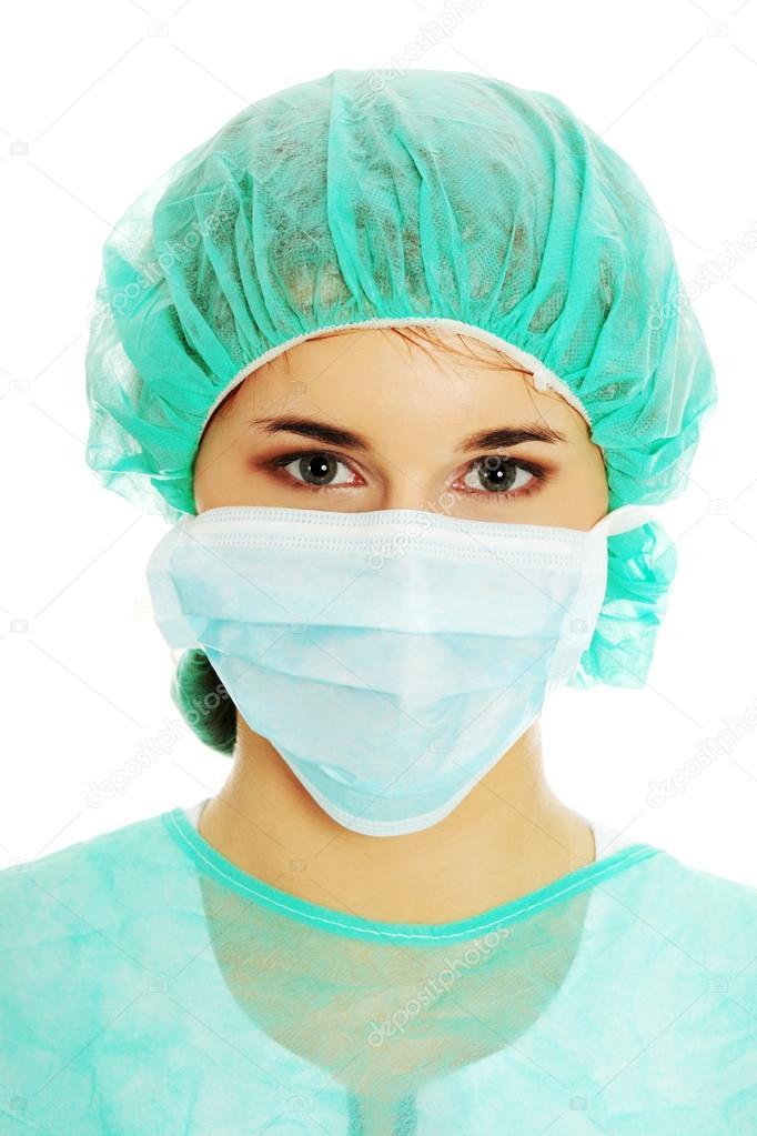 Piotr Surgical Stock 41073893 marcinski Mask Doctor In Photo — ©