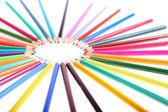 Mnoho barevné tužky