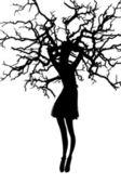 Fotografie strom žena