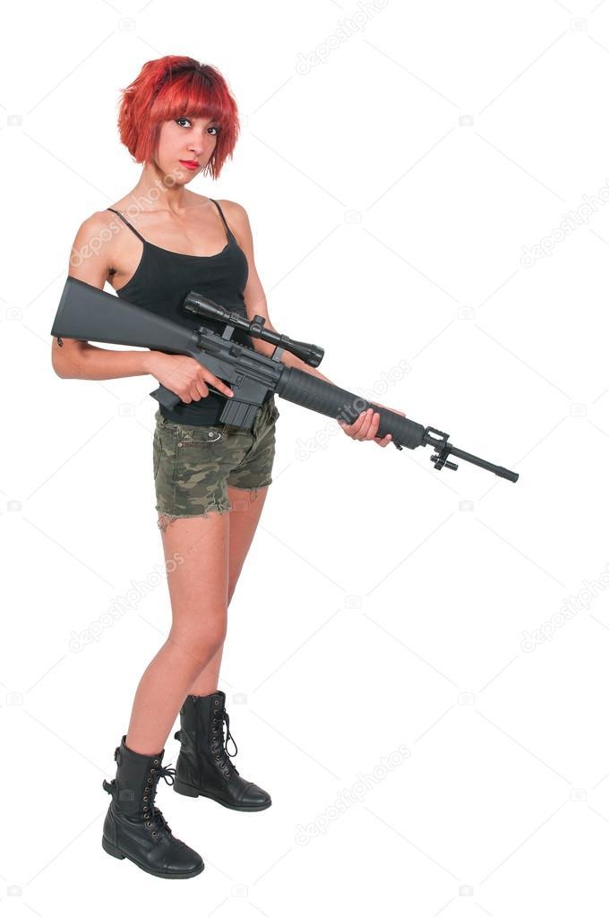 работа для девушек снайпером