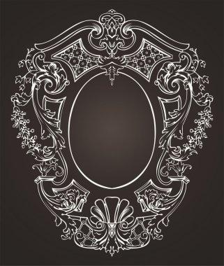 Otnate Oval Retro Frame