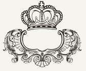 Egy szín korona Crest összetétele