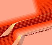 abstraktní 3D oranžové pozadí