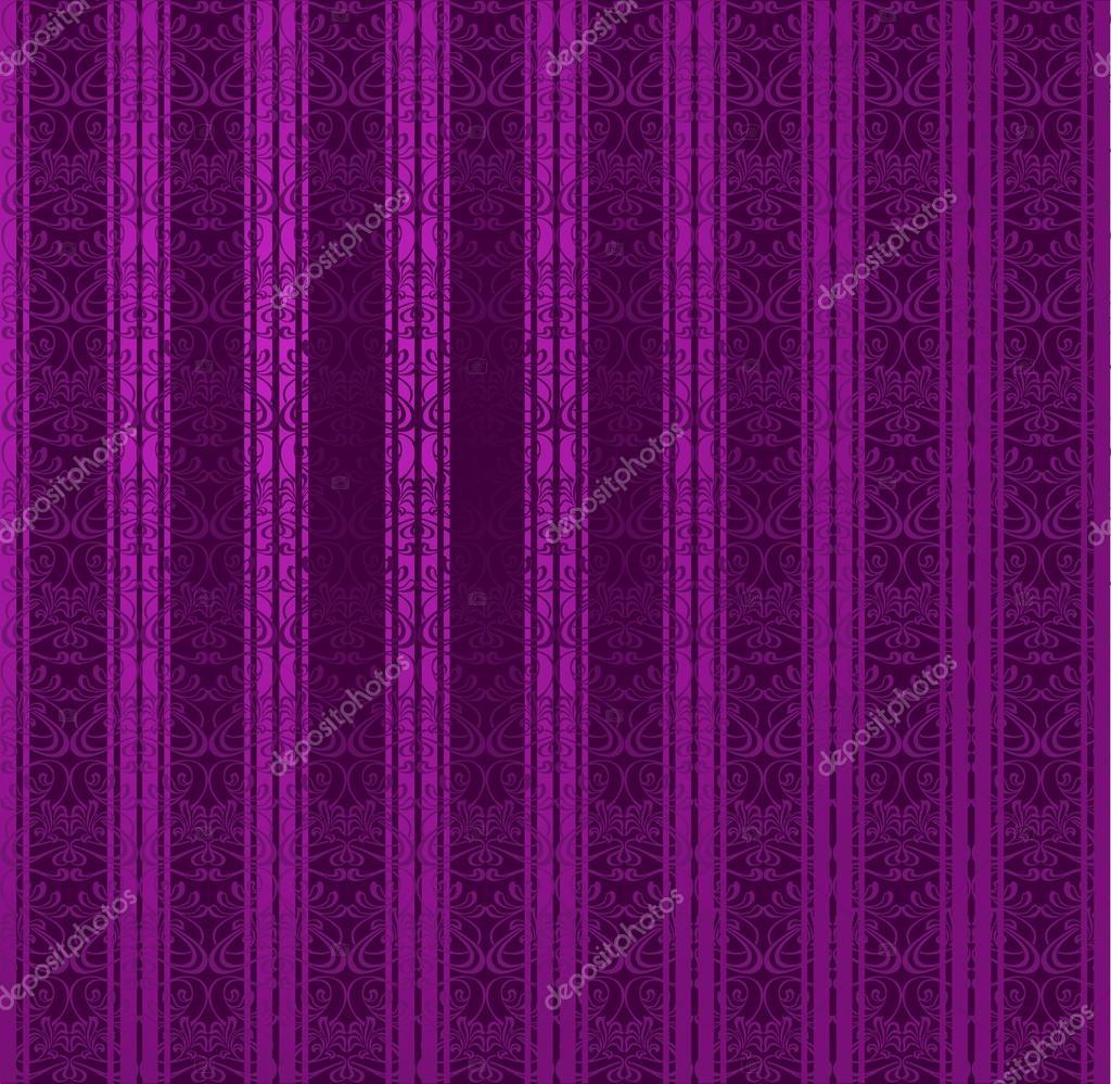 Nahtlose Tapete Lila Streifen Stockvektor C Aakbar 46218753
