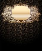 Glühen Gold Medaillon