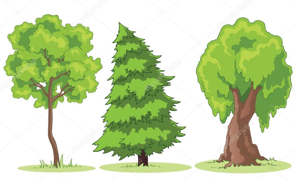 Výsledek obrázku pro obrázky stromy kreslené